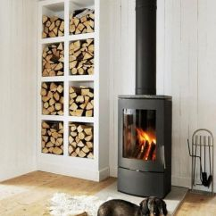 Living Room Firewood Holder Build In Shelves 25 Cool Storage Designs For Modern Homes View Gallery