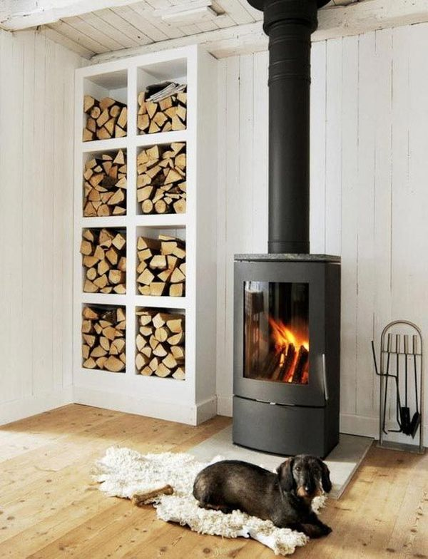 Where To Store Wood For Fireplace 25 Cool Firewood Storage Designs For Modern Homes