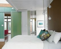 Shipping Container Home Interior Bedroom