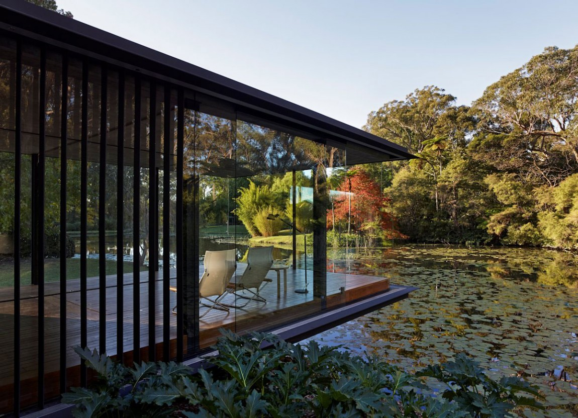 Glass Pavilion Takes The Place Of An Orchard But Keeps Its