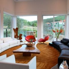 Arrange Large Furniture Small Living Room Cozy Colors How To Find The Perfect Place For Your Curved Sofa Or ...