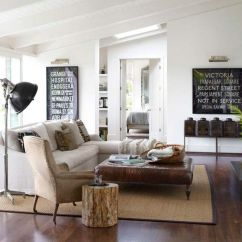Country Style Living Room Ideas Bench 25 Homely Elements To Include In A Rustic Decor 13 Natural Solid Fabrics