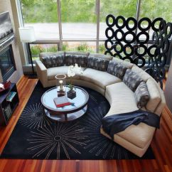 Small Living Rooms With Sectional Sofas Modern Room Furniture Images How To Find The Perfect Place For Your Curved Sofa Or ...