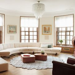 Circular Couches Living Room Furniture Pictures Of Rooms With Light Wood Floors How To Find The Perfect Place For Your Curved Sofa Or Sectional Align It A Wall