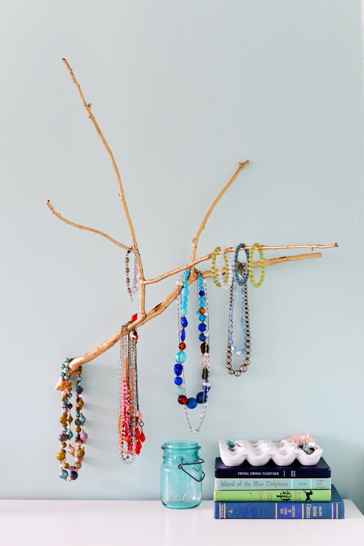 Tree Branch Jewelry Holder : branch, jewelry, holder, Jewelry, Holder, Branch
