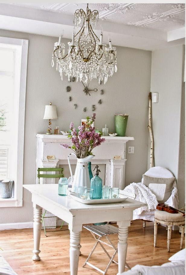 52 Ways Incorporate Shabby Chic Style into Every Room in ...