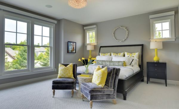 yellow and grey master bedroom How You Can Use Yellow To Give Your Bedroom A Cheery Vibe