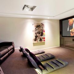 Cushions Living Room Reading Lamps Get Comfy With Floor And Serenity Will Follow Seating For The Home Theater