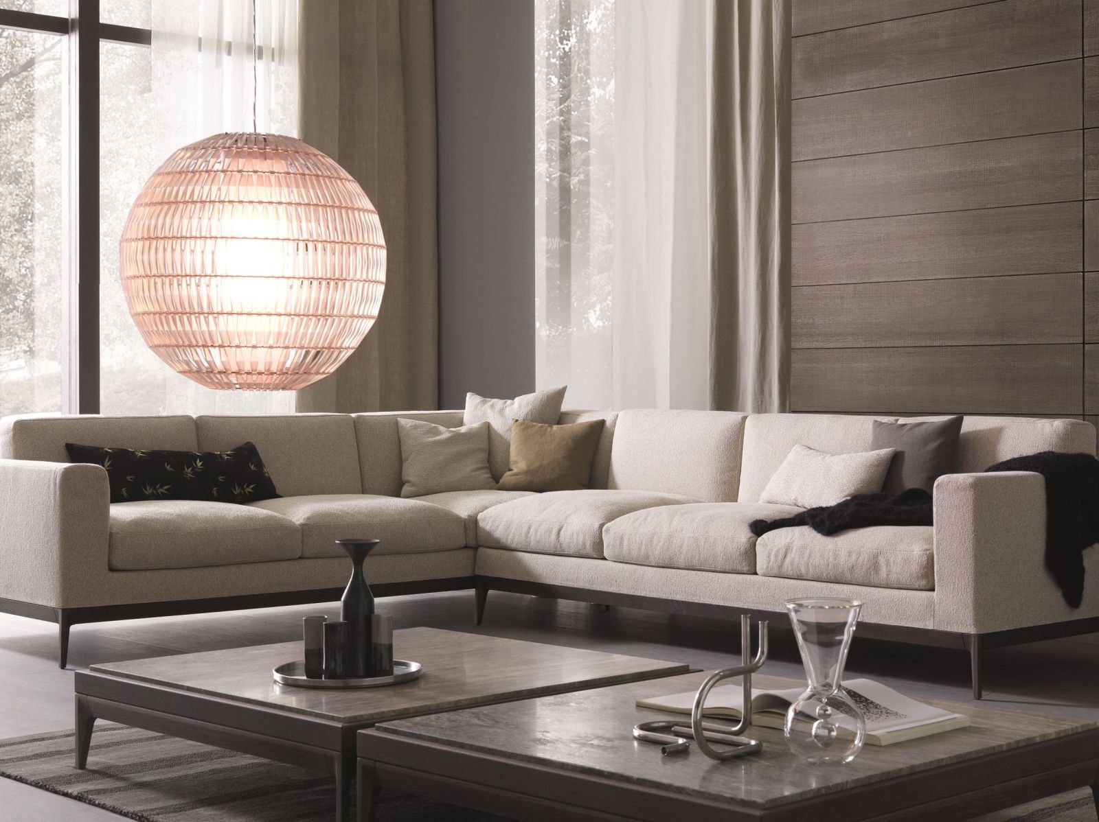 big living room sectionals large wall clocks add space where you need it the most with l-shaped sofas
