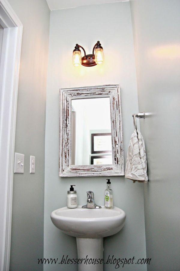 Powder Rooms with Light Bathroom Vanity