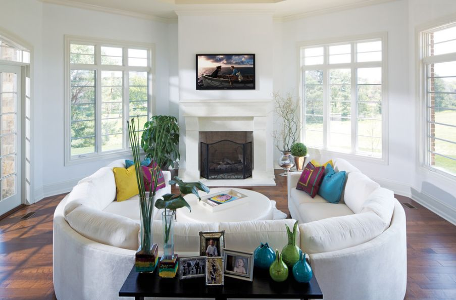 living room with sectionals design your virtual how to find the perfect place for curved sofa or sectional