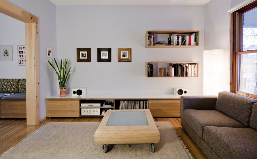 shelving for living room walls tv unit designs small india wall mounted box shelves a trendy variation on open