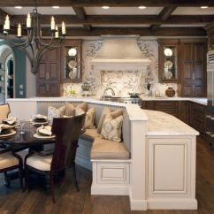 Kitchen Table Bench Seat Foam Mats How A With Seating Can Totally Complete Your Home