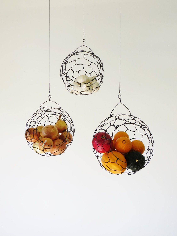 Stylish Fruit Storage In Kitchen