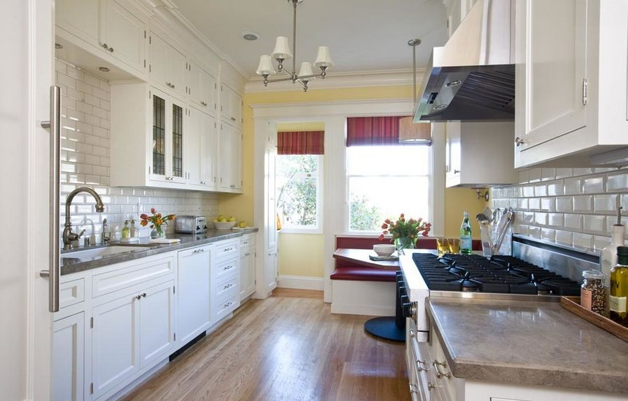 kitchen corner bench with storage lowes delta faucets how a table seating can totally ...