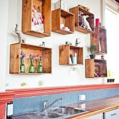 Kitchen Corner Bench Seating With Storage Glass Cabinet Wall-mounted Box Shelves – A Trendy Variation On Open