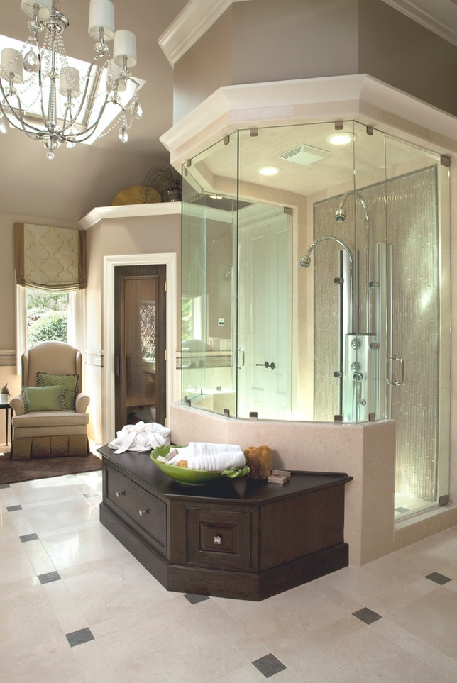 Incredible, Luxurious Stand Up Showers