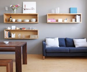 shelves living room decorative accessories 20 ways to incorporate wall mounted tvs and into your decor box a trendy variation on open
