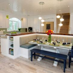 Built In Kitchen Table Beadboard Cabinets How A With Bench Seating Can Totally Complete Your Home