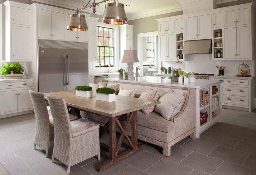 kitchen table with bench and chairs discount hardware how a seating can totally complete your home