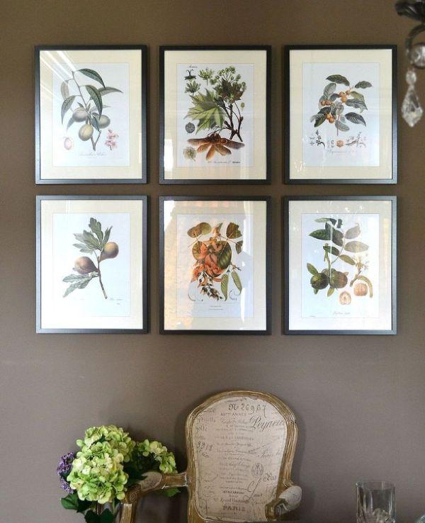 Botanical Prints Sprinkled House