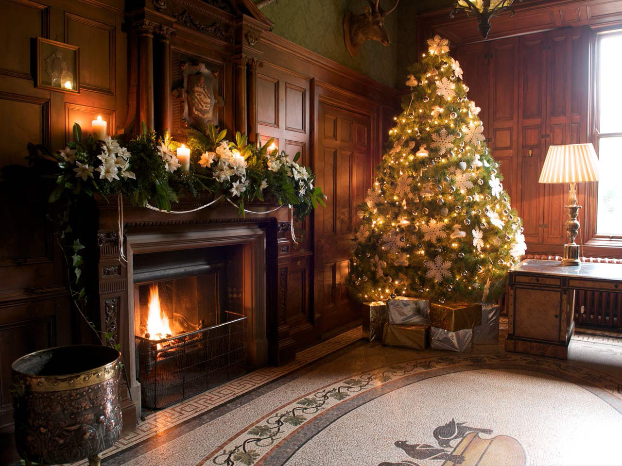 elegant christmas living room decor good furniture brands for last minute tree decorating ideas an enchanting make it sparkle view in gallery a