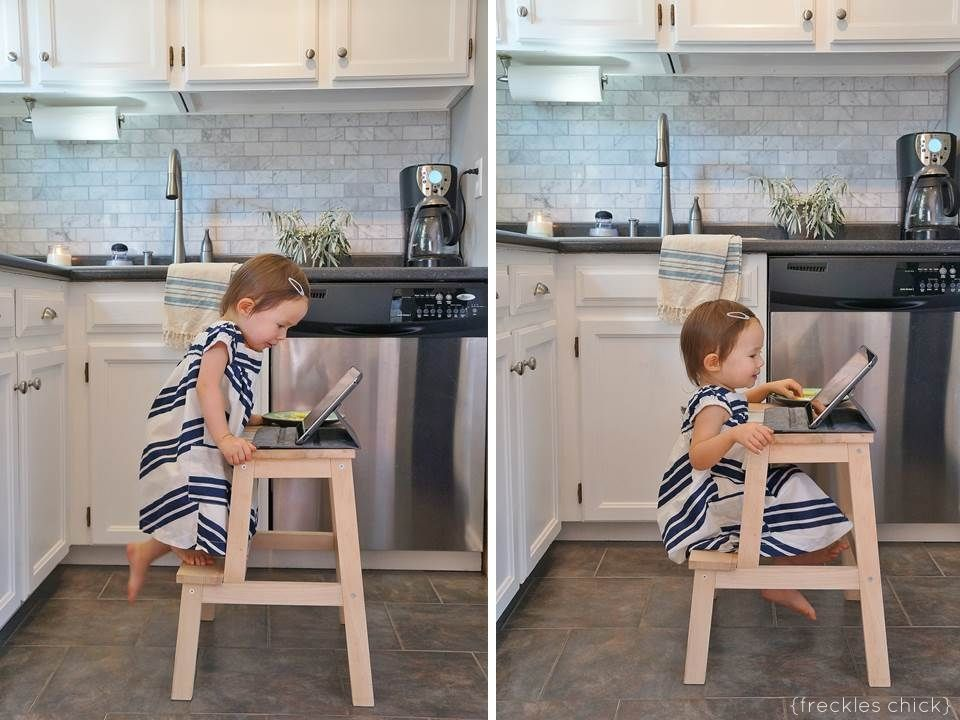 first step high chair leather slipper chocolate diy makeovers that transform the ikea bekvam stool