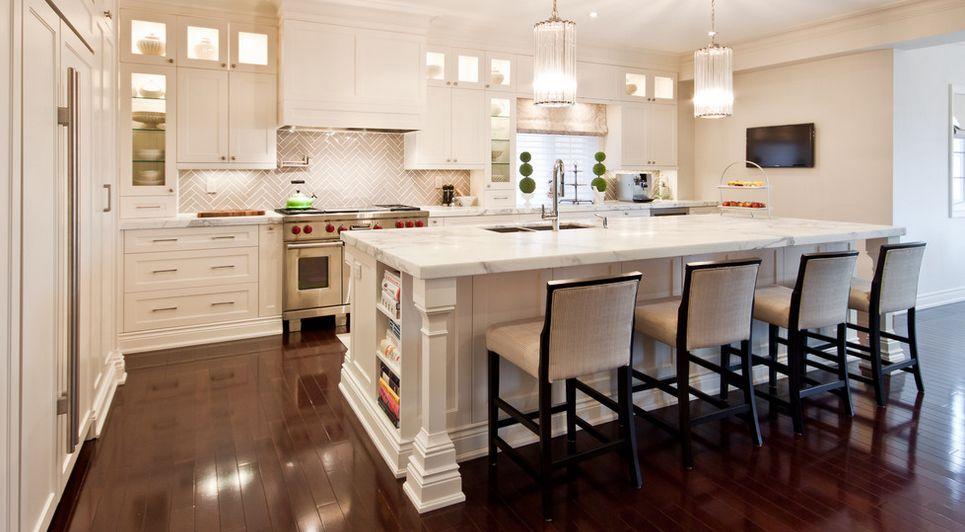 white kitchen backsplash compact appliances backsplashes dazzle with their herringbone designs