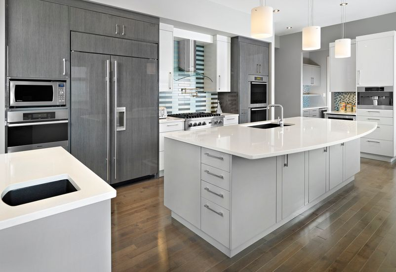 gray kitchen cabinets rehab on a budget 20 stylish ways to work with