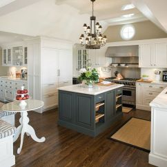 Colored Kitchen Islands Small Design Ideas 20 Stylish Ways To Work With Gray Cabinets