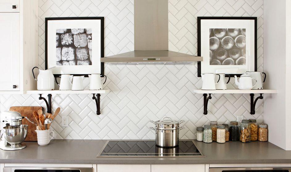 kitchen back splashes counter top backsplashes dazzle with their herringbone designs