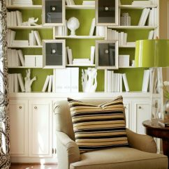 Best Living Room Accent Wall Colors Interior Design Ideas For Small Rooms Pictures Dare To Be Different 20 Unforgettable Walls Bookshelves As