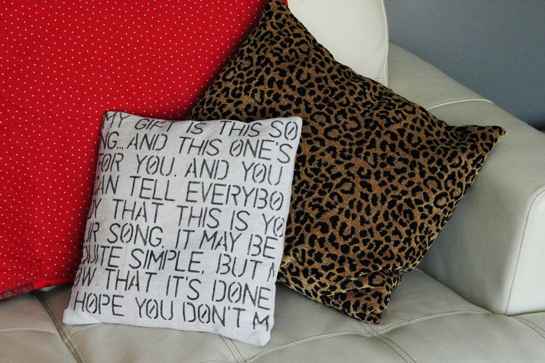 Diy Throw Pillow Covers