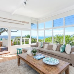 Beach House Living Room Designs Best Ceiling Fan For Large Serene Taken Over By Coastal Beauty