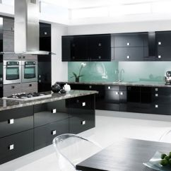 Kitchen Black Cabinets Granite Countertops Cost One Color Fits Most An Error Occurred