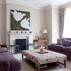 Cream Colored Leather Sofas Sofa Stain Remover How To Match A Purple Your Living Room Décor