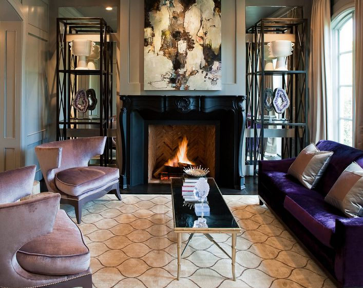 purple living room furniture sofas design with wood stove how to match a sofa your decor