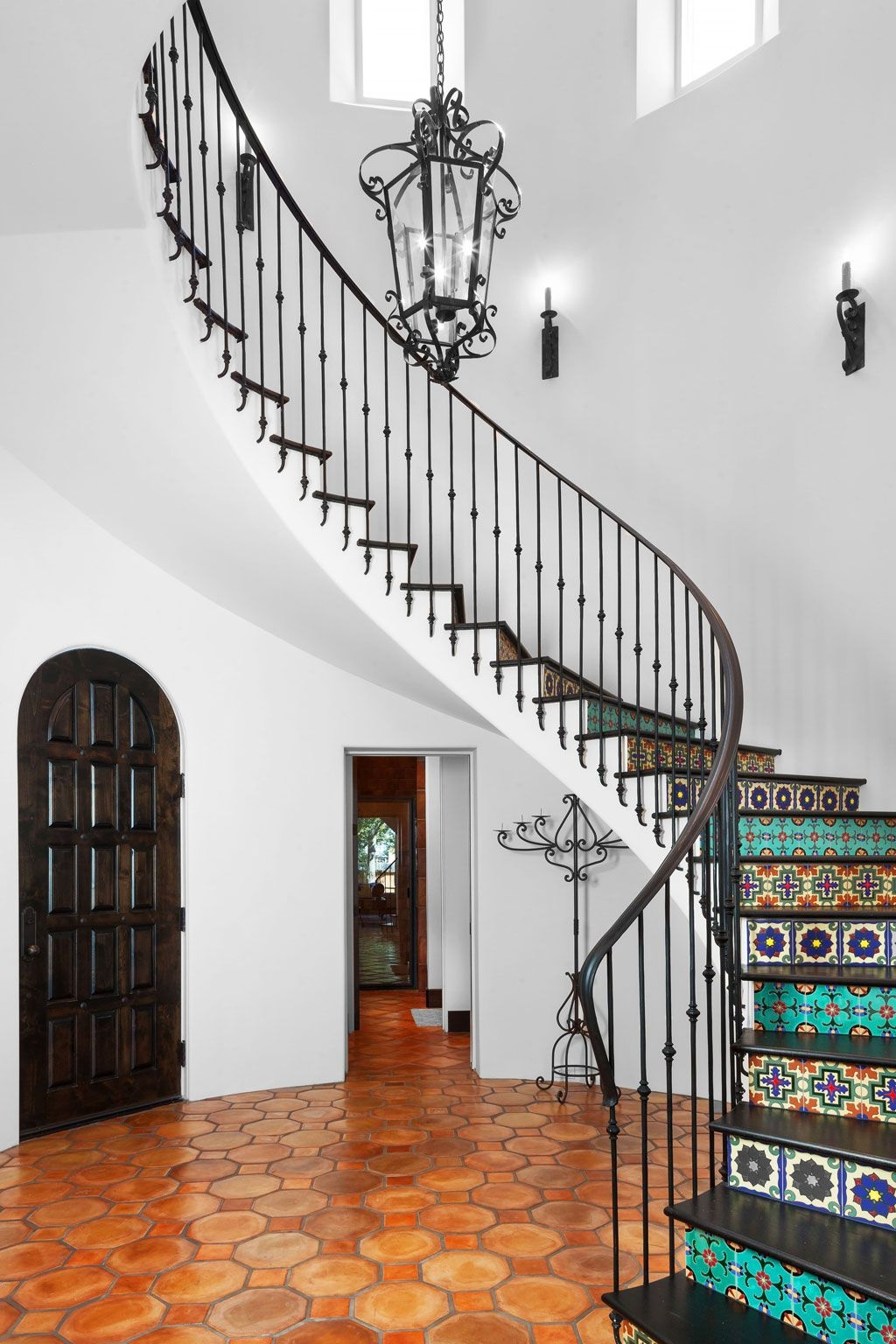 Decorative Stair Risers With Designs For All Tastes   Stair Riser Tiles Designs