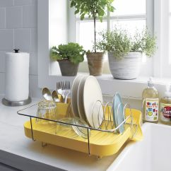 Kitchen Dish Drying Mat Wire Racks For Clever Designs That Reinvent The Humble Rack