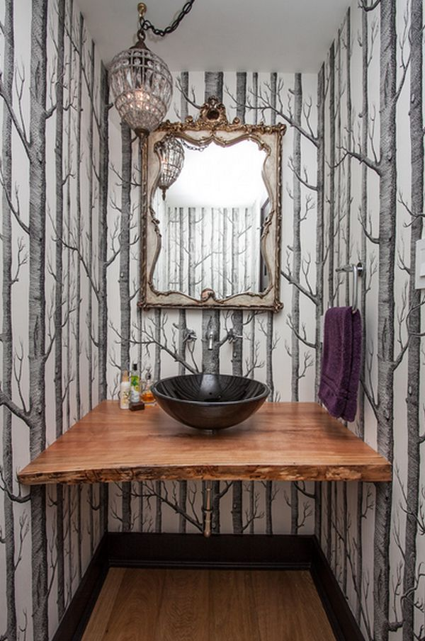 3d Reclaimed Wood Wallpaper Nature Depicted On Your Walls Birch Tree Wallpaper
