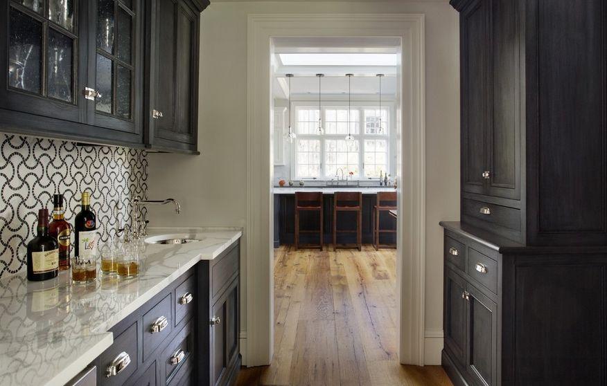 smallblackcabinetskitchen  Home Decorating Trends  Homedit