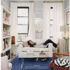 Furnishing A Tiny Living Room Full Size Mirror In How To Be Pro At Small Apartment Decorating Think Vertical