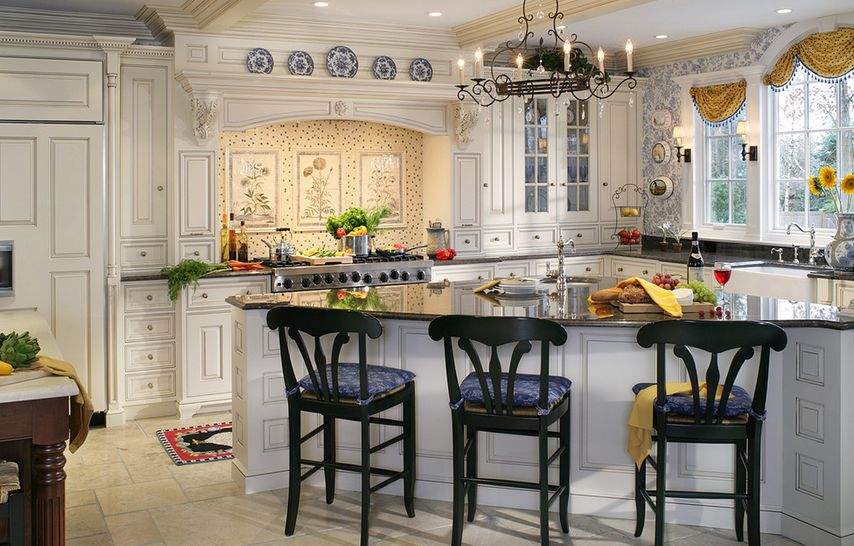 french country kitchens small kitchen storage cabinet 20 ways to create a
