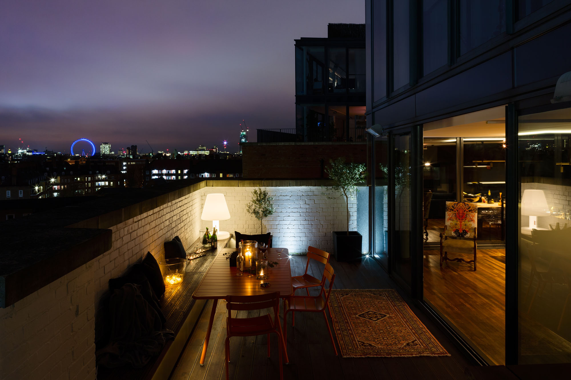 A Penthouse That Celebrates London With A CuttingEdge Design