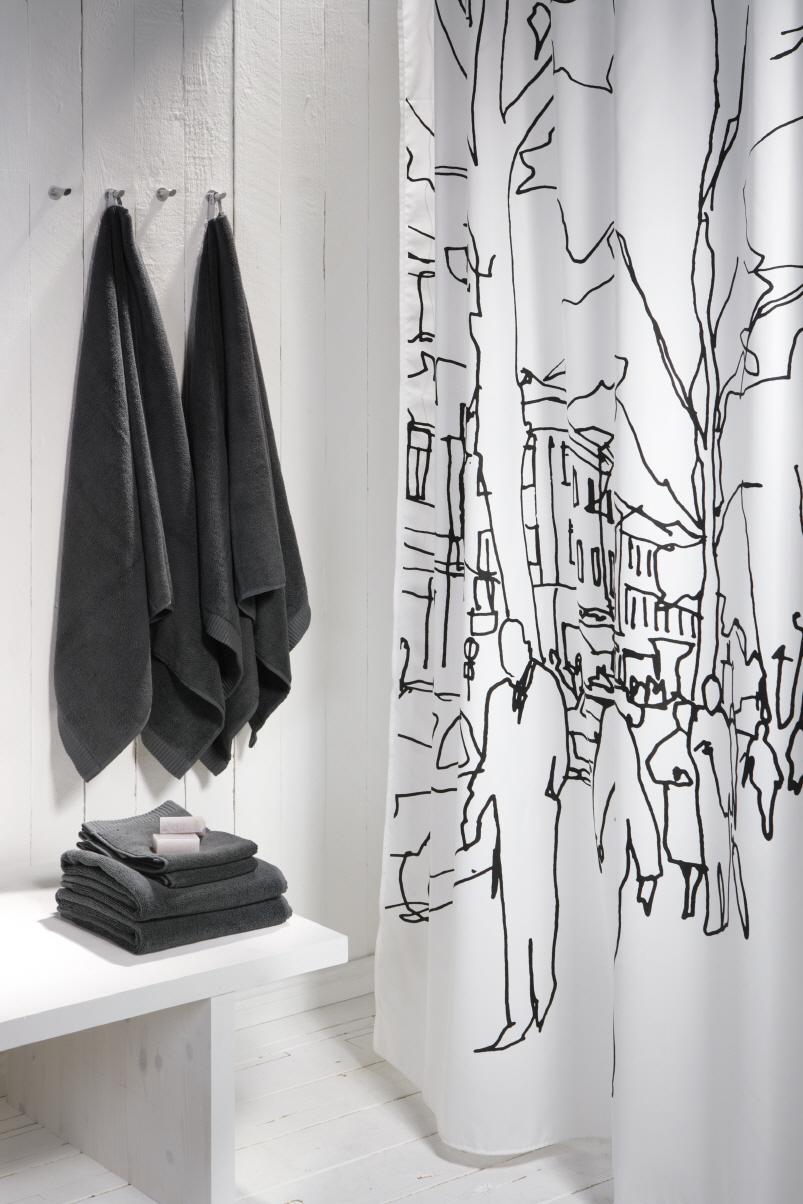 10 Stylish And Modern Shower Curtains Interior Design Blogs