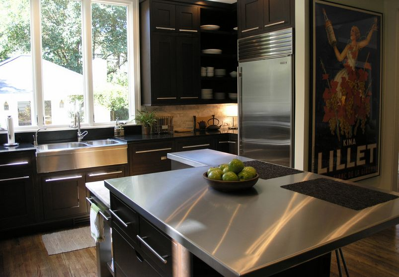Kitchen Cabinets Cleaner How To Make The Most Of Stainless Steel Backsplashes