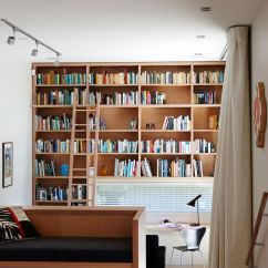 Low Ceiling Living Room Design Ideas Lights Creating A Home Library That's Smart And Pretty