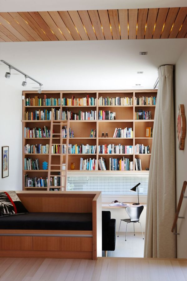 Home Library Ladder