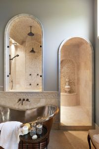 Roman Shower Stalls For Your Master Bathroom