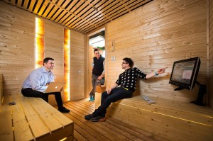 google office hungary budapest sauna offices inside meets function studio spa business themed
